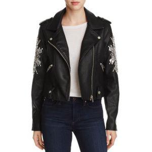 BLANK NYC | Crown Jewels Vegan Leather Moto Jacket